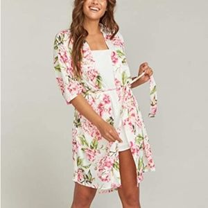 Show Me Your MuMu Brie Robe One Size // 1423